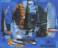 1955 Par temps orageux, huile sur toile, 50 x 42 cm (no 1455)