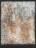 1961 Page de carnet, oeuvre tactiliste, 1958-1961, 15P= 65 x 50 cm (no 5558)