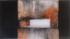 1977 Retrouver la trace, œuvre tactiliste sur toile, 1971-1977, 123 x 72 cm