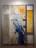 1972 A man on whom the sun has gone down, œuvre recto-verso avec miroir Mica, 200 x 150 cm, exposée au Palais des Congrès à Aix en Provence en juillet 1972