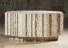 1979 Autel de l'Eglise Fetschenhof-Cents, 1978-1979, béton blanc