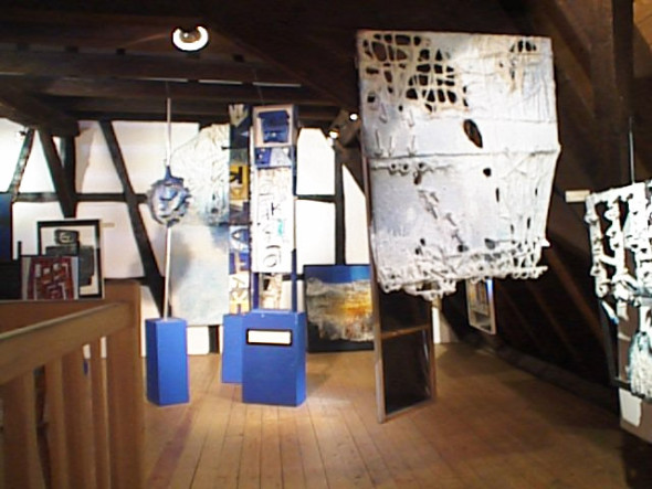 1989 Musée Théo Kerg Schriesheim-Heidelberg , vue du 2e étage