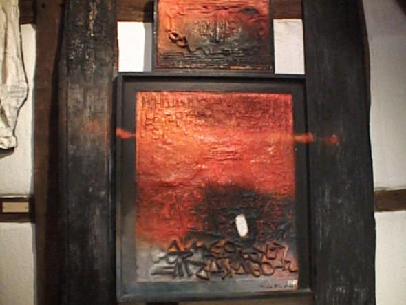 1989 Musée Théo Kerg Schriesheim-Heidelberg, Hommage à Ezra Pound, ,1959-1967, 182 x 128 cm