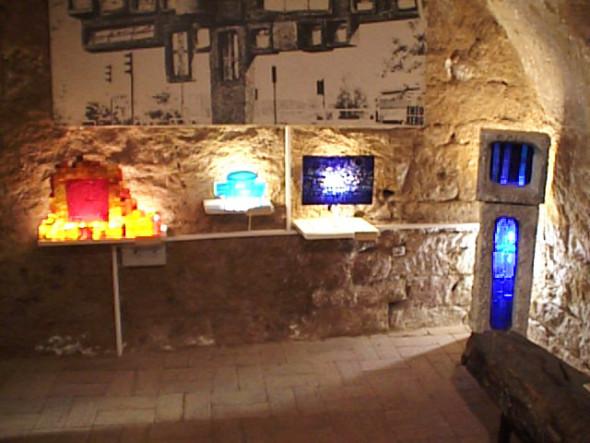 1989 Musée Théo Kerg, Schriesheim Heidelberg, vue du sous-sol