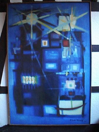 1989 Musée Théo Kerg, Schriesheim Tours de feu 1950-130 x 195 cm