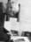 Théo Kerg au travail vers 1975