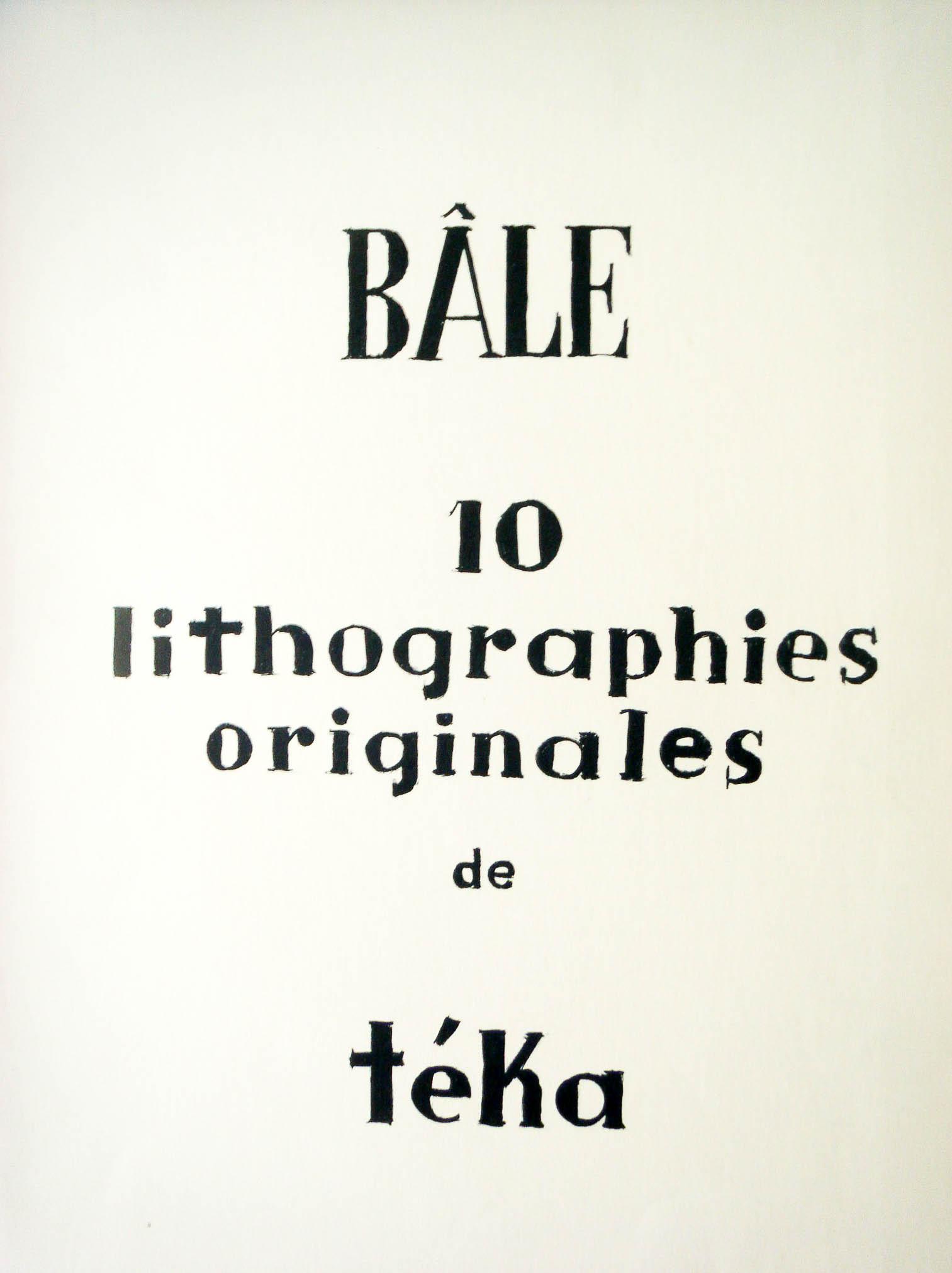 1947  Bâle 00, Alfred Frossard Porrentruy, 1.10.1947