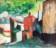 1944 Rue Malakoff à Luxembourg ville, huile sur toile, 53 x 46 cm