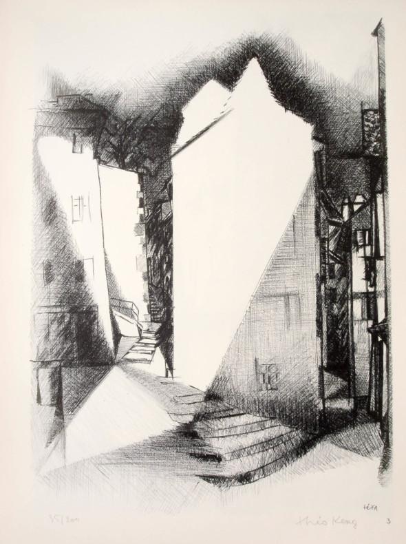 1947  Bâle 03, Eclats, litho, 1.10.1947