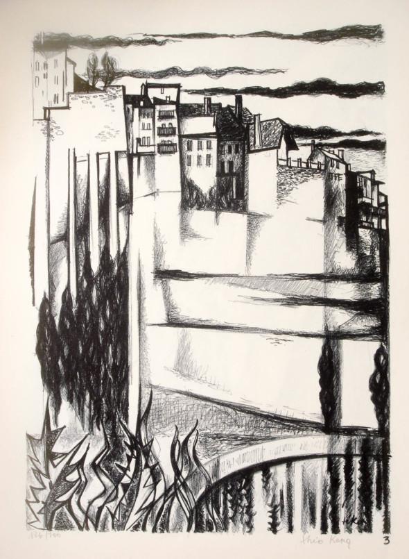 1947  Fribourg 03, Indifférence, litho, 1.10.1947