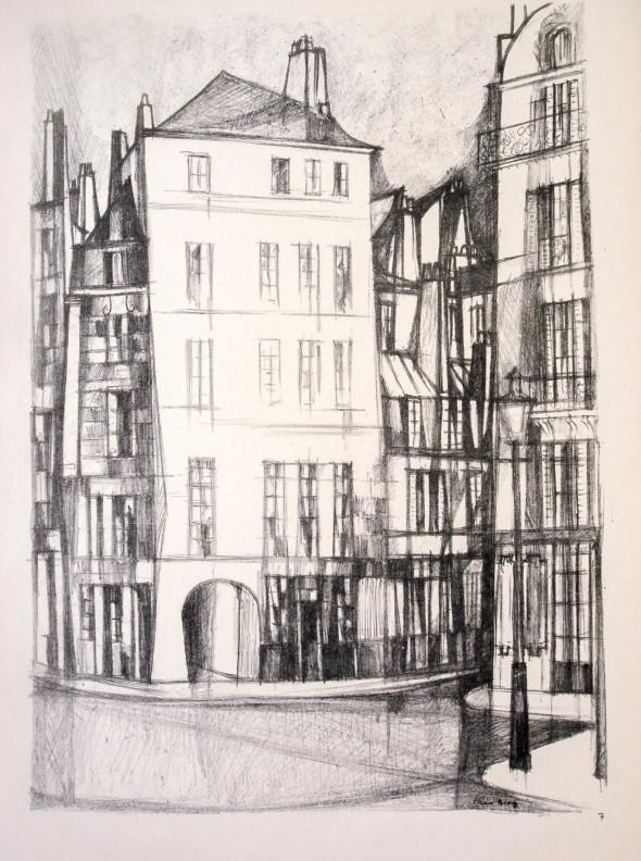 1947  Paris 07, Quai Montebello, litho, 10.11.1047
