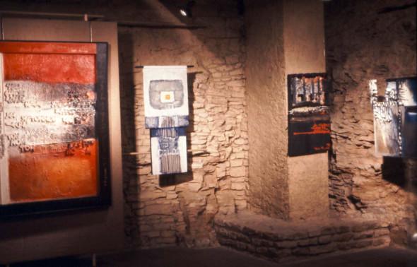 1976 Luxembourg, exposition à la Galerie Paul Brück