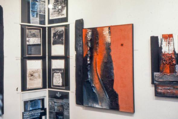 1977 Paris, Grand palais, FIAC, Galerie Biren, stand C19