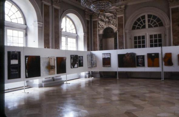 1984 Erlangen Kunstverein, Orangerie im Wassersaal, Tactilismus, unbegrenzte Kreation