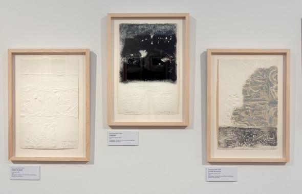 14 – Images de papier – Cicatrices – L'oublie des pierres, empreintes (1977)