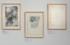 16 – Borne à l'infini, empreinte, gravure (1977) – Altamira retrouvé, empreinte, gravure (1978) – L'oublie des pierres II, empreinte (1977)