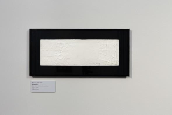 20 – Empreinte, empreinte blanche autour d'un centre blanc (1981)