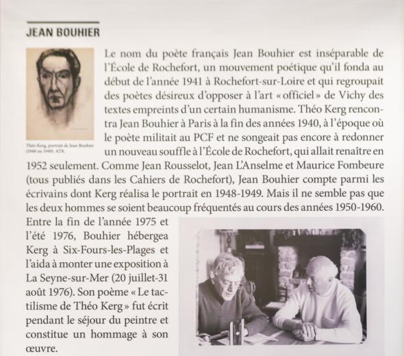 18 – Jean Bouhier et Théo Kerg (1978) Photo: Anni Krist (dite Nini)