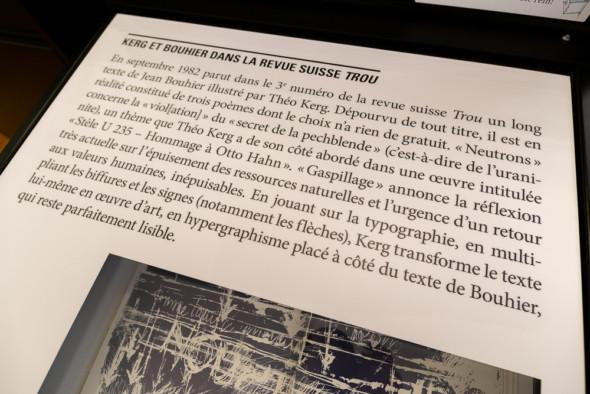 19 – Kerg et Bouhier dans la revue suisse «TROU»