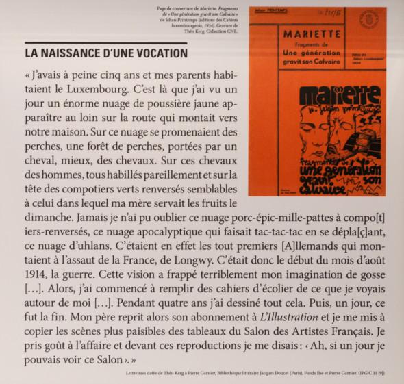 24 – Lettre non datée de Théo Kerg à Pierre Garnier
