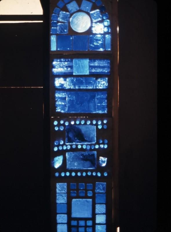 1985 Neumarkt Austria-Steinmühle, Vitrail dans la salle bleue